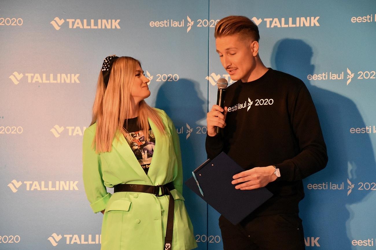 Mari-Liis Jõgeva ja Karl-Erik Taukar