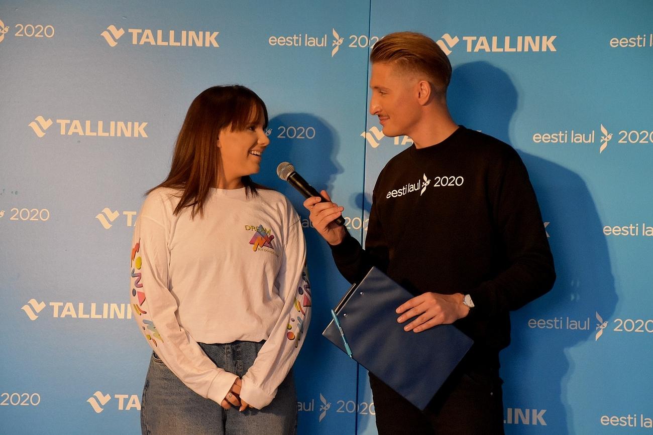 Jennifer Cohen ja Karl-Erik Taukar