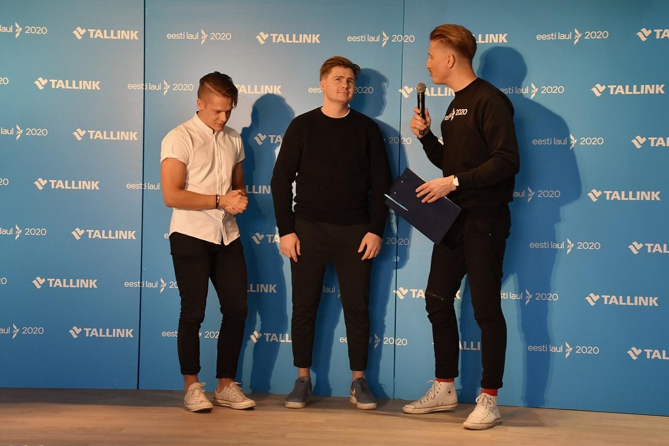 Uudo Sepp, tema võistlusloo autor Andrei Zevakin ja Karl-Erik Taukar