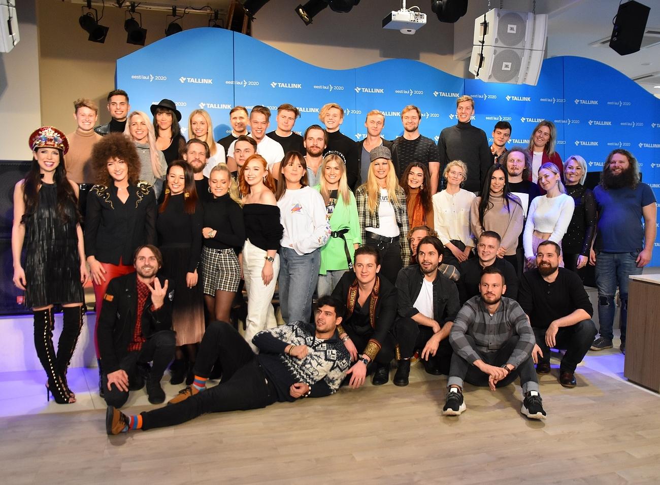 Eesti Laul 2020 poolfinalistid