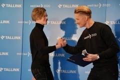 Jaagup Tuisk ja Karl-Erik Taukar
