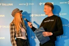 Jana Hallas ja Karl-Erik Taukar