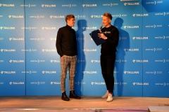 Egert Milder ja Karl-Erik Taukar