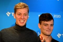 Egert Milder ja Frederik Küüts