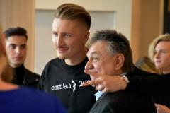 Karl-Erik Taukar ja Allan Roosileht