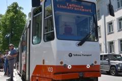 Tütarlastekoor Ellerhein sai nimelise trammi (foto: 2/23)