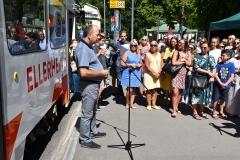 Tütarlastekoor Ellerhein sai nimelise trammi (foto: 6/23)