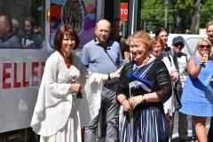Tütarlastekoor Ellerhein sai nimelise trammi (foto: 19/23)