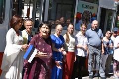 Tütarlastekoor Ellerhein sai nimelise trammi (foto: 20/23)