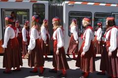 Tütarlastekoor Ellerhein sai nimelise trammi (foto: 23/23)