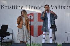 Nele-Liis Vaiksoo ja Rolf Roosalu kontsert Löwenruh' pargis